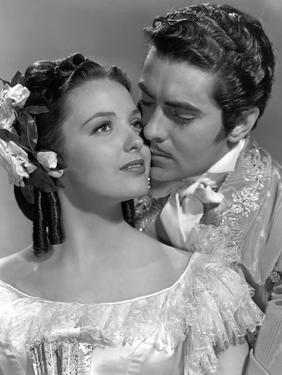 Le signe by Zorro MARK OF ZORRO by RoubenMamoulian with Linda Darnell and Tyrone Power, 1940 (b/w p