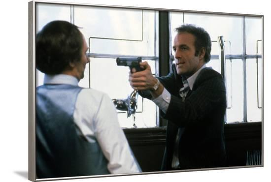 Le Solitaire VIOLENT STREETS by Michael Mann with James Caan, 1981 (photo)--Framed Photo