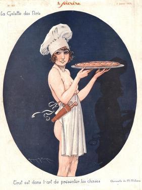 Le Sourire, Erotica Cooking Sex Magazine, France, 1926