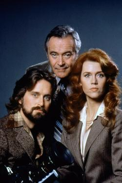 Le Syndrome Chinois THE CHINA SYNDROME by James Bridges with Jack Lemmon Michael Douglas and Jane F
