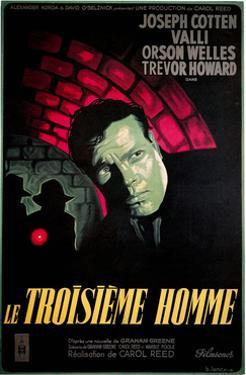 Le Troisieme Homme, (AKA the Third Man), Orsom Welles, 1949