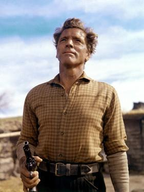 Le Vent by la Plaine THE UNFORGIVEN by JohnHuston with Burt Lancaster, 1960 (photo)
