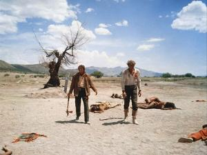 Le Vent by la Plaine THE UNFORGIVEN by JohnHuston with Burt Lancaster and Audie Murphy, 1960 (photo