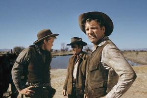 Le Vent by la Plaine THE UNFORGIVEN by JohnHuston with Doug McClure, Audie Murphy and Burt Lancaste