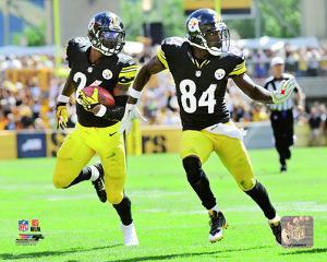 Le'Veon Bell & Antonio Brown 2014 Action