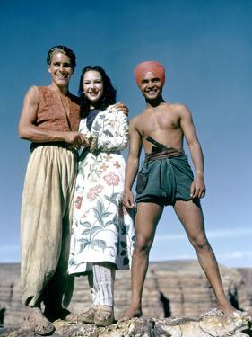Le voleur by Bagdad by Ludwig Berger with John Just June Duprez and Sabu, 1940 (photo)
