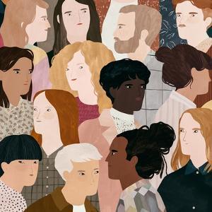 Friendly Faces, by Léa Le Pivert
