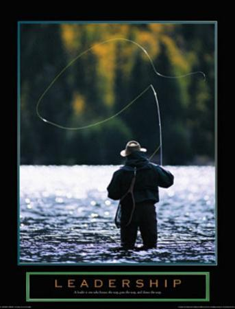 Leadership Fly Fisherman Motivational