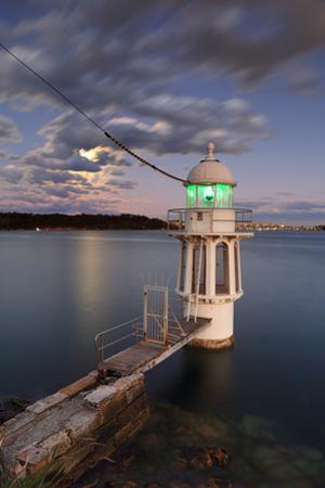 Cremorne Point Lighthouse Sydney Harbour by Leah-Anne Thompson