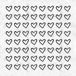 Big Heart Ink Splatter by Leah Flores