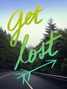 Get Lost Road Green by Leah Flores