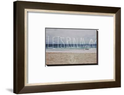 Let's Run Away: Sandy Beach, Hawaii by Leah Flores