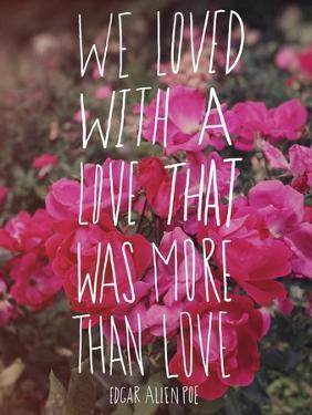 Poe Love by Leah Flores