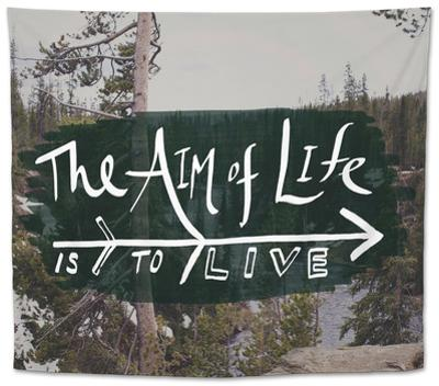 The Aim of Life by Leah Flores