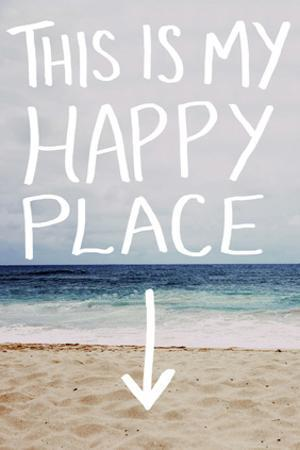 This Is My Happy Place (Beach) by Leah Flores