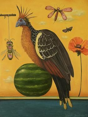 Hoatzin 2 by Leah Saulnier
