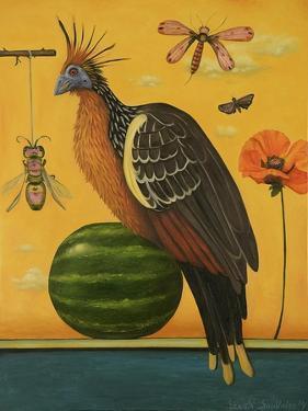 Hoatzin by Leah Saulnier