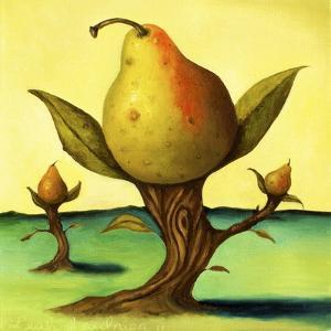 Pear Trees 2 by Leah Saulnier