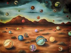 Raining Marbles 3 by Leah Saulnier