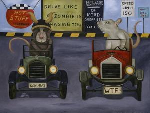 Rat Race #4 by Leah Saulnier