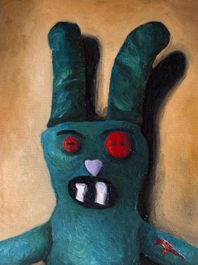 Zombie Bunny by Leah Saulnier