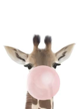 Giraffe Bubble Gum by Leah Straatsma