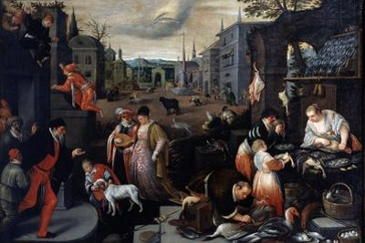 February (From the Series the Seasons), Late 16th or Early 17th Century by Leandro Bassano