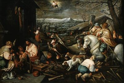 January' (From the Series 'The Seasons), Late 16th or Early 17th Century by Leandro Bassano