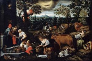 June' (From the Series 'The Seasons), Late 16th or Early 17th Century by Leandro Bassano