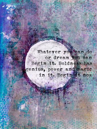 Begin by Lebens Art