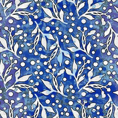 Blue Pattern by Lebens Art