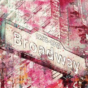 Broadway - Square by Lebens Art