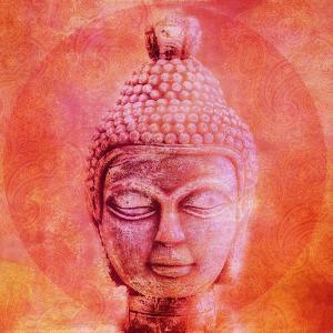 Buddha - Square 2 by Lebens Art