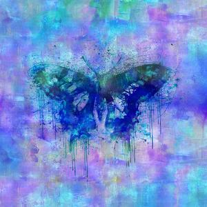 Butterfly - Square 2 by Lebens Art
