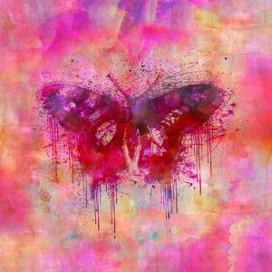 Butterfly - Square by Lebens Art