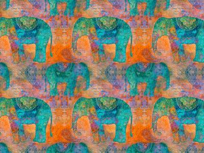 Elephants 2 by Lebens Art