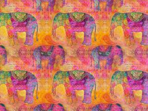Elephants by Lebens Art