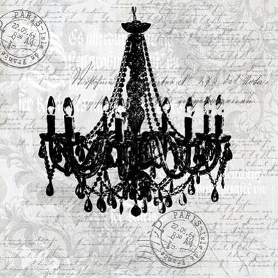 Grey Baroque Chandelier by Lebens Art