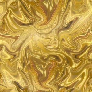 Liquid Gold by Lebens Art