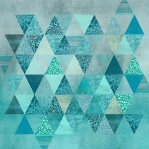 Precious Triangles by Lebens Art