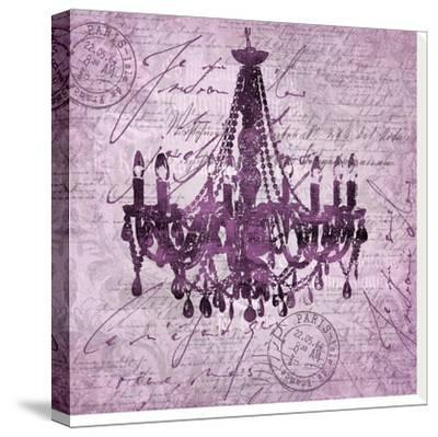 Purple Baroque Chandelier by Lebens Art