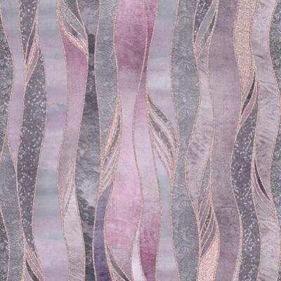 Purple Shiny Elegance by Lebens Art