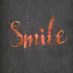 Smile - Square by Lebens Art
