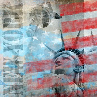 Statue Of Liberty 2 - Square by Lebens Art