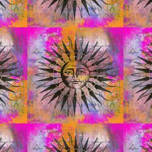 Sun - Square by Lebens Art