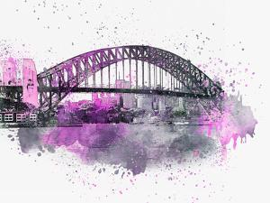 Sydney Harbor Bridge 3 by Lebens Art