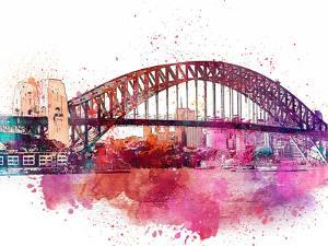 Sydney Harbor Bridge 4 by Lebens Art