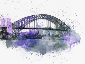 Sydney Harbor Bridge by Lebens Art