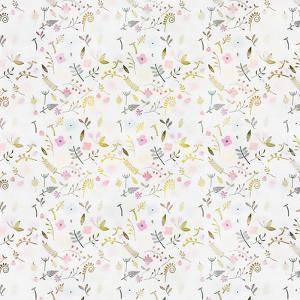 Tiny Flower Pattern - Square by Lebens Art