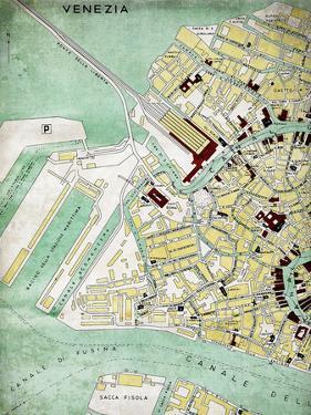 Venezia Map by Lebens Art